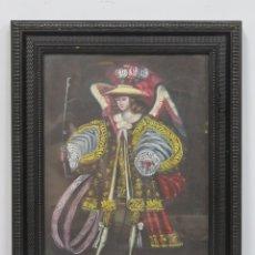 Arte: ARCANGEL ARCABUCERO. OLEO S/ LIENZO. ESCUELA CUZQUEÑA. Lote 172643192