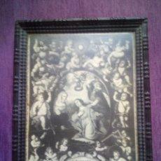 Arte: ANTIGUA LAMINA DE SANTA BÁRBARA. Lote 172715344