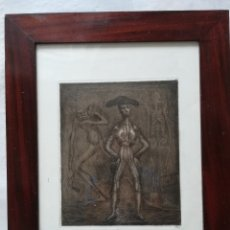 Arte: EL FENOMENO, FIRMADO POR MANUEL LAHOZ VALLE GRABADO 7 DE 20. Lote 172757018