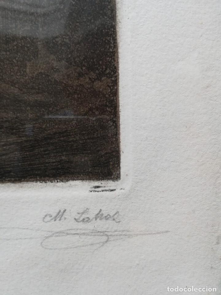 Arte: El fenomeno, firmado por Manuel Lahoz Valle grabado 7 de 20 - Foto 3 - 172757018