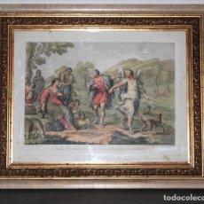 Arte: ANGELUS DOMINI SANCTUS SIT IN TINERE PERDUCATQUE VOS INCOLUMES. . Lote 173059188