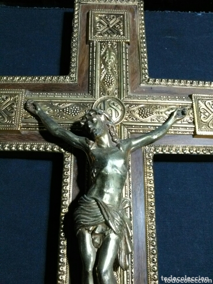 BELLO CRUCIFIJO. ANTIGUO (Arte - Arte Religioso - Iconos)