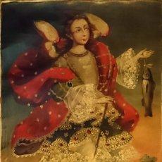 Arte: OLEOS LIENZOS ANGELES Y ARCANGELES SAN RAFAEL. Lote 173380813
