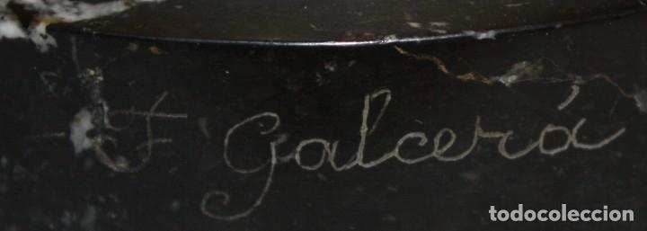 Arte: FREDERIC GALCERÀ ALABART (Barcelona, 1880 - 1964) SAGRADO CORAZÓN EN BRONCE DE APROXIMADAMENTE 1920 - Foto 10 - 173577343