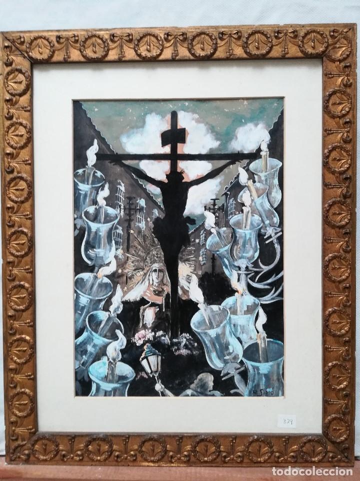 CRUCIFICADO (Arte - Arte Religioso - Pintura Religiosa - Otros)