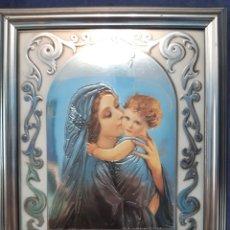 Arte: IMAGEN DE LA VIRGEN MARÍA Y EL NIÑO. Lote 173787532