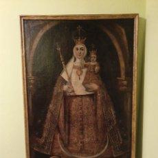 Arte: EXTRAORDINARIO OLEO SOBRE LIENZO DE VIRGEN FERNANDINA S.XVII. Lote 160180685