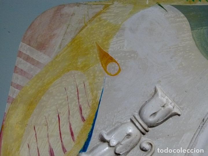 Arte: PINTURA SOBRE YESO DE LLUIS GUELL COMPTE - Foto 5 - 174053360