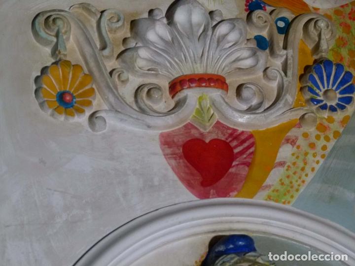 Arte: PINTURA SOBRE YESO DE LLUIS GUELL COMPTE - Foto 7 - 174053360