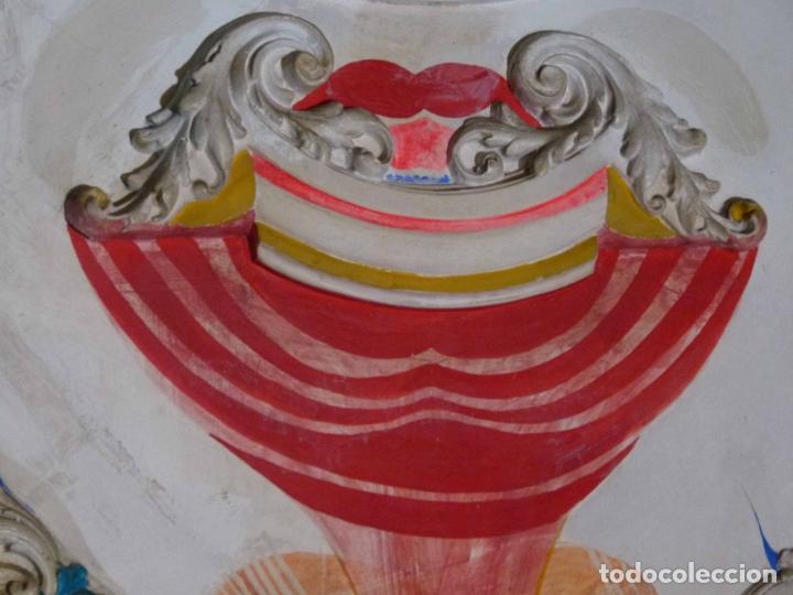 Arte: PINTURA SOBRE YESO DE LLUIS GUELL COMPTE - Foto 8 - 174053360