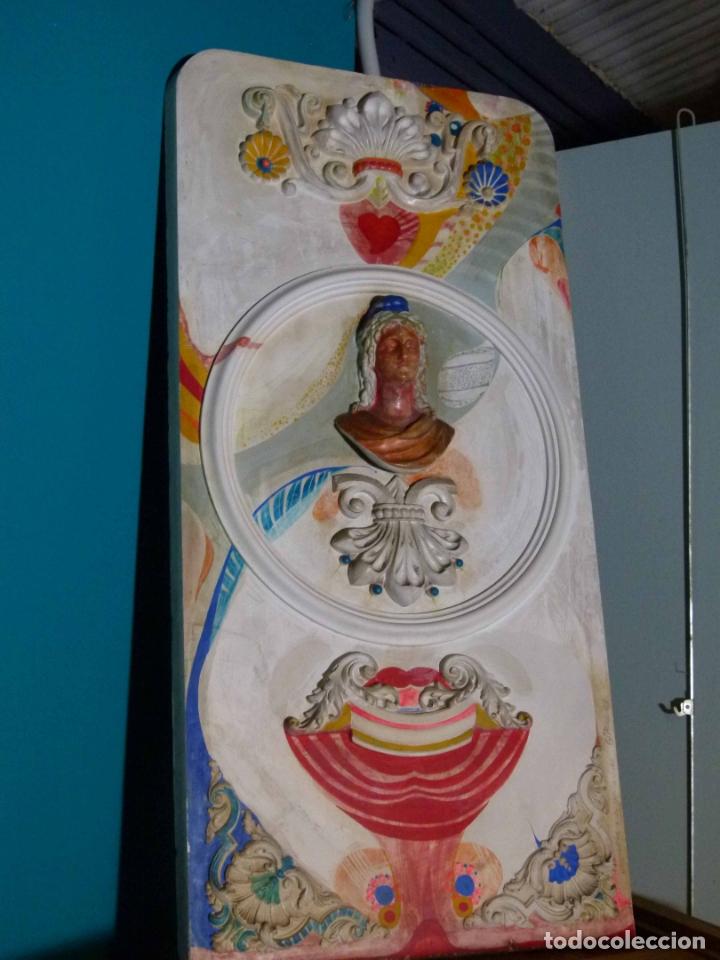 PINTURA SOBRE YESO DE LLUIS GUELL COMPTE (Arte - Arte Religioso - Pintura Religiosa - Otros)