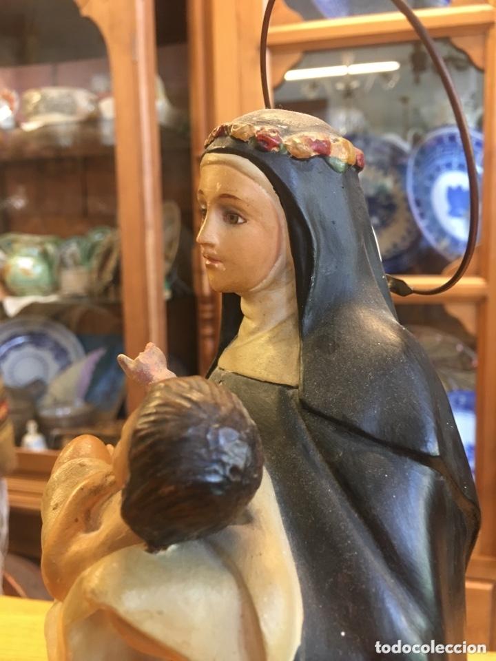 Arte: Santa Teresa figura antigua de Arte de Olot - Anónima Mató - Foto 4 - 174064748
