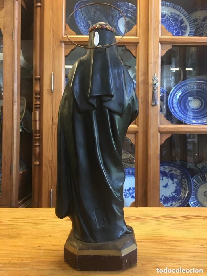Arte: Santa Teresa figura antigua de Arte de Olot - Anónima Mató - Foto 7 - 174064748