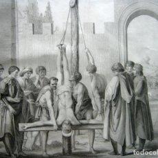 Arte: S.XVIII - EL MARTIRIO DE SAN PEDRO - CARLO LASINIO .... IMPRESIONANTE !!. Lote 174100194
