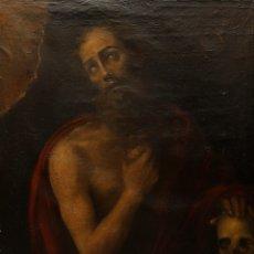 Arte: EXCEPCIONAL SAN JERONIMO. ESCUELA ESPAÑOLA S. XVII. A ESTUDIAR. Lote 174156139