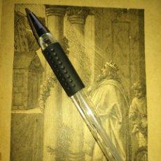 Arte: 1881 ANTIGUO GRABADO MINIATURA RELIGIOSO - EL REY SALOMON . Lote 174265725