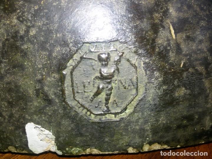 Arte: Antiquísimo busto de estuco-sello incrustado - Foto 2 - 174303430