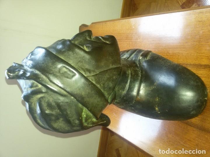 Arte: Antiquísimo busto de estuco-sello incrustado - Foto 3 - 174303430
