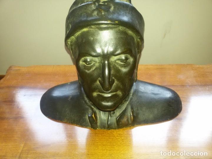 Arte: Antiquísimo busto de estuco-sello incrustado - Foto 6 - 174303430