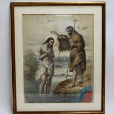 Arte: B-856. LITOGRAFIA EN COLOR, SAN JUAN BAUTISTA. PRINCIPIOS S .XX.. Lote 174316617
