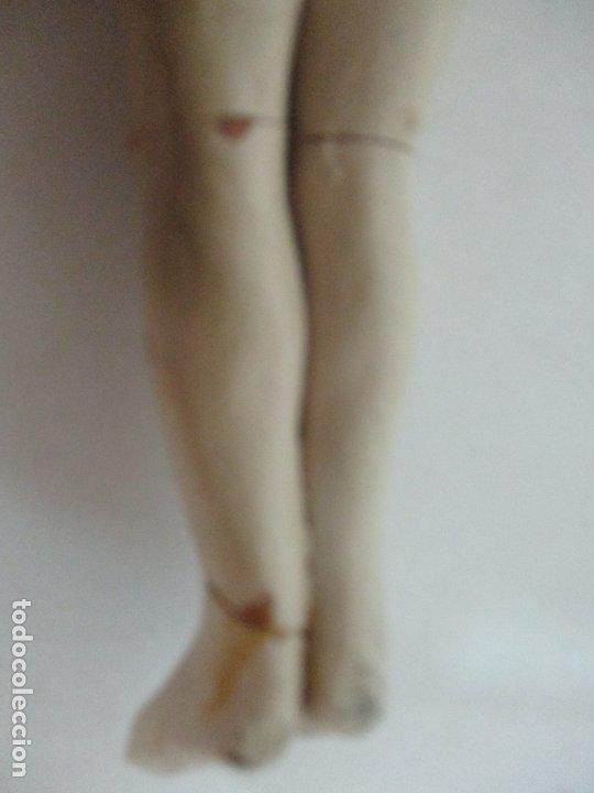 Arte: Antiguo Cristo Yacente - Terracota Policromada - 21 cm Altura - S. XIX - Foto 6 - 174391632