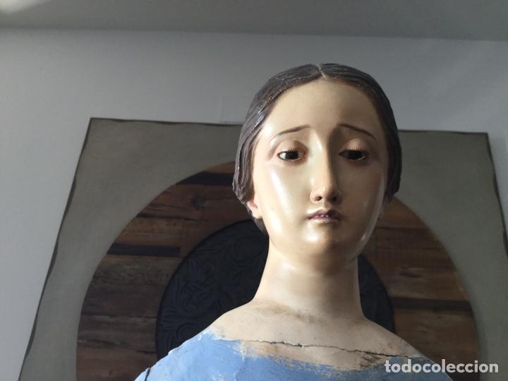 Arte: PRECIOSA VIRGEN VESTIDERA CAP I POTA SIGLO XIX - Foto 10 - 174485070