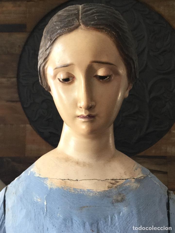 Arte: PRECIOSA VIRGEN VESTIDERA CAP I POTA SIGLO XIX - Foto 12 - 174485070
