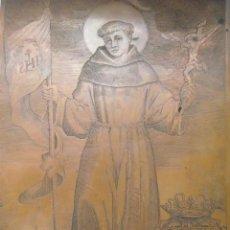 Arte: PLANCHA DE COBRE GRABADO DE SAN JUAN DE CAPISTRANO MILAN SIGLO XVII CAPITÁN DE LOS TERCIOS ESPAÑOLES. Lote 174489865