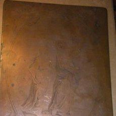 Arte: PLANCHA DE COBRE DE JULIAN MÁS Y LUIS PLANES VALENCIA FINALES DEL SIGLO XVIII ALCORA VALENCIA. Lote 174490018