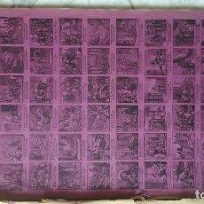 Arte: SANTA EULALIA Y SANTA TERESA EN FORMA DE ALELUYA PUBLICADA EN BARCELONA A FINALES DEL SIGLO . Lote 174577388