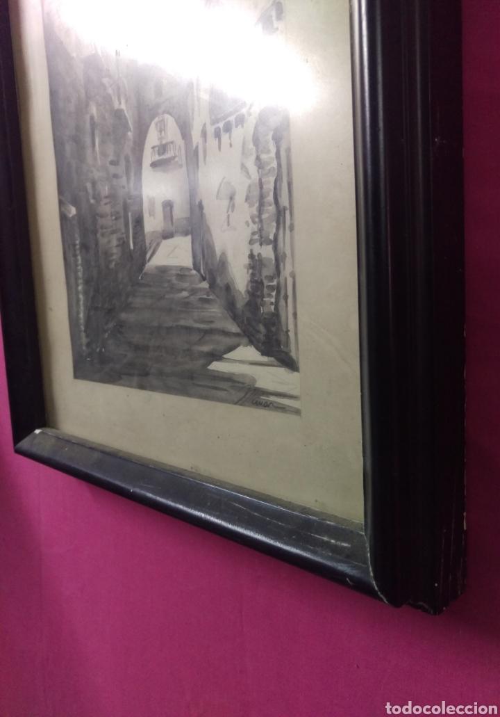 Arte: Paisaje tinta acuarela original firmado MUNAR - Foto 6 - 174595269