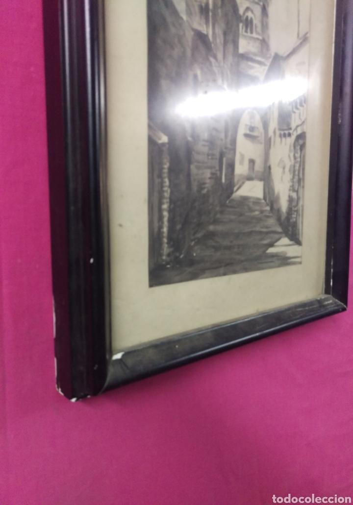 Arte: Paisaje tinta acuarela original firmado MUNAR - Foto 7 - 174595269