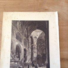 Art: BURGOS. LA CATEDRAL POR CH. LALAISSE. Lote 175012259