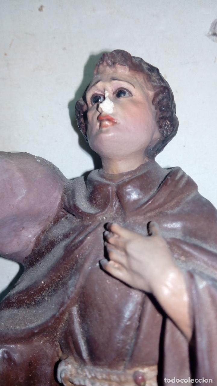 Arte: Figura de estuco medidas 22 cm (630) - Foto 3 - 175028678