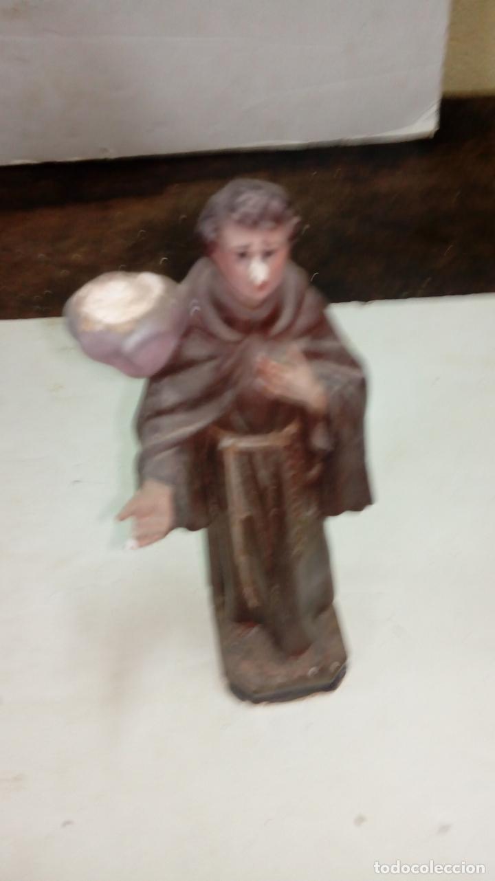 FIGURA DE ESTUCO MEDIDAS 22 CM (630) (Arte - Arte Religioso - Escultura)