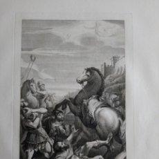 Arte: 1830 AGUAFUERTE CONVERSIÓN DE SAN PABLO PAOLO CARACCI FRANCESCO ROSASPINA CM. 47X30. Lote 175060834