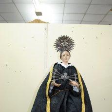 Arte: FIGURA RELIGIOSA ARTICULADA VIRGEN DOLOROSA CAP I POTA SIGLO XIX. Lote 175214025