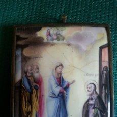 Arte: S. XVII. ICONO ESMALTADO POPE RUSO. MUY BUEN ESTADO DE CONSERVACIÓN.. Lote 175224165