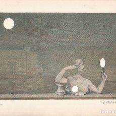 Arte: SUBIRACHS LITOGRAFIA FIRMADA 264/300 1983 FIRA DE BARCELONA. Lote 175331573