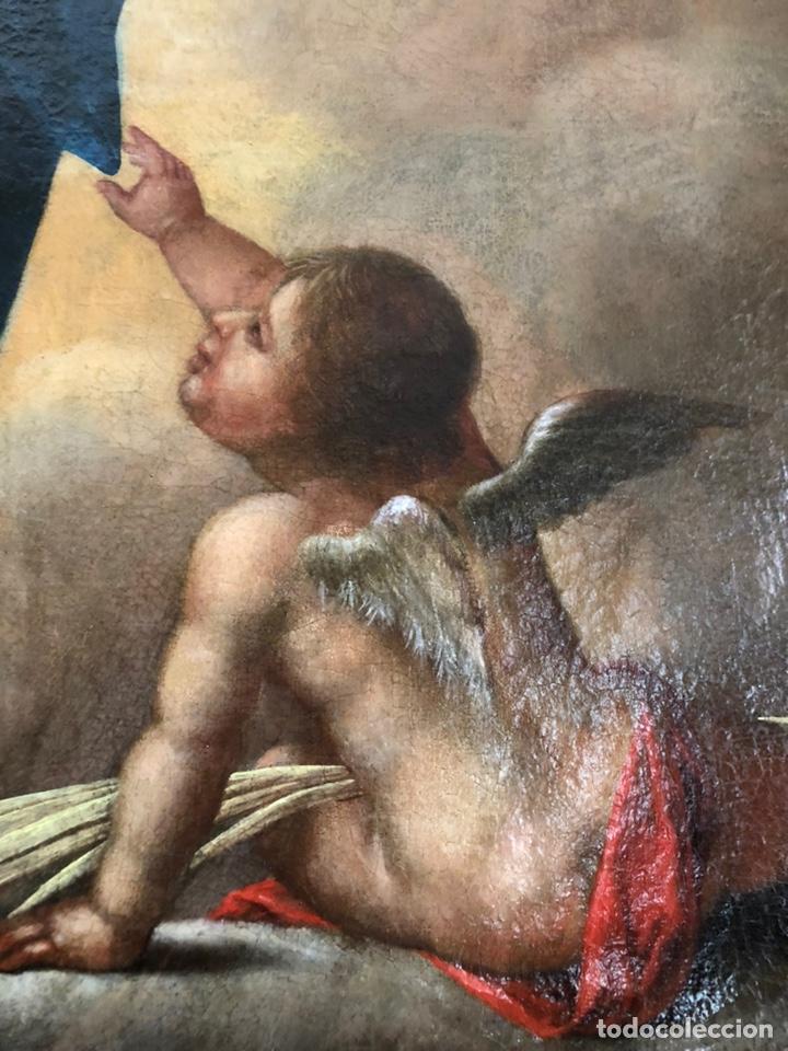 Arte: Virgen Inmaculada, óleo, estilo Alonso Cano, siglo XIX. 167 x 128 cm - Foto 19 - 175511562