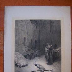 Arte: GRABADO DE GUSTAVE DORÉ, SÍN TÍTULO Nº 52.. Lote 175586445