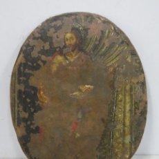 Arte: ANTIGUO SANTIAGO?. OLEO S/ COBRE. SIGLO XVII. Lote 175624888