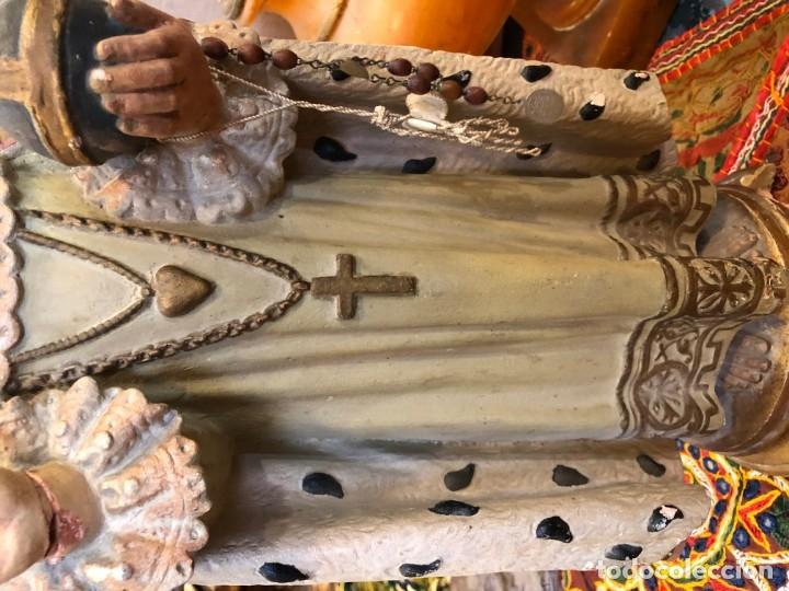 Arte: magnifico niño jesus de praga, terracota antigua. - Foto 3 - 175797668