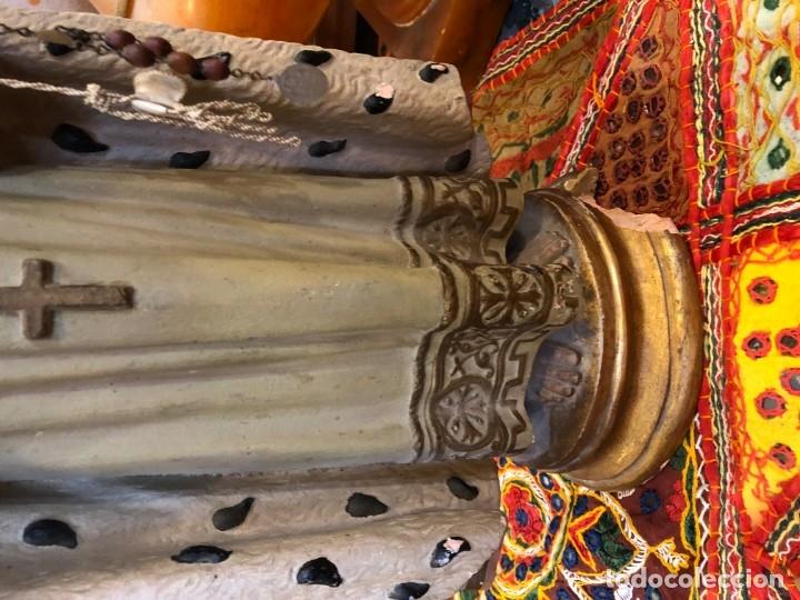 Arte: magnifico niño jesus de praga, terracota antigua. - Foto 4 - 175797668