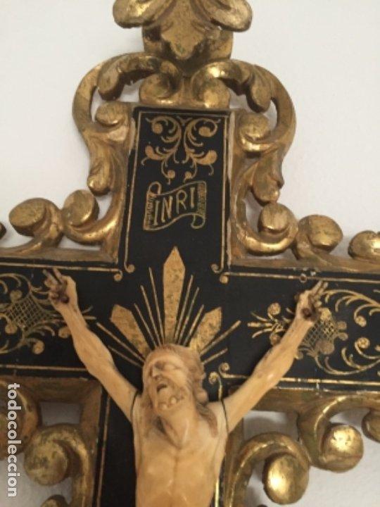 Arte: Crucifijo del siglo XVIII/XIX - Foto 4 - 175852029