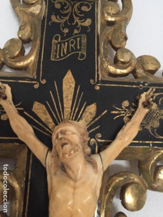 Arte: Crucifijo del siglo XVIII/XIX - Foto 8 - 175852029