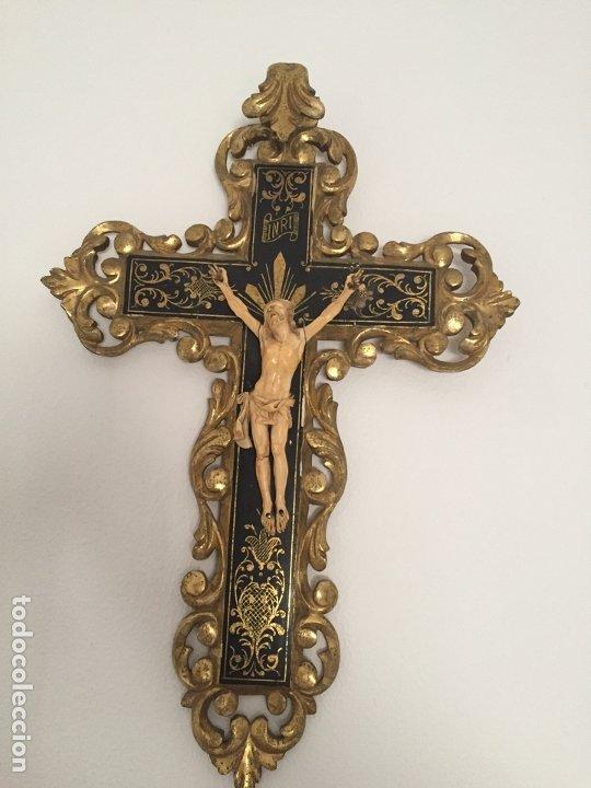 CRUCIFIJO DEL SIGLO XVIII/XIX (Arte - Arte Religioso - Escultura)