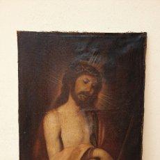 Arte: ECCE HOMO. ÓLEO SOBRE LIENZO. SIGLO XVII.. Lote 175931880