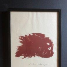 Arte: LITOGRAFIA FIRMADA A LÁPIZ HANS HARTUNG. Lote 176017172