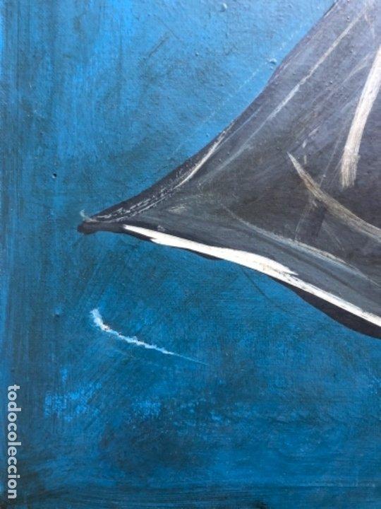 Arte: ÓLEO DOBRE TELA FIRMADO MUXART - Foto 5 - 176026729